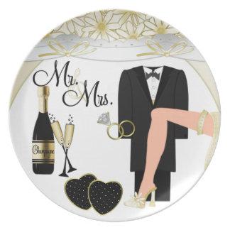 Wedding /Anniversary 2 Plate
