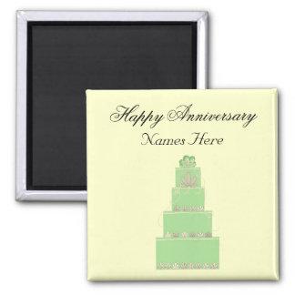 Wedding Anniversary Memento Magnet
