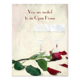 Wedding Anniversary Open House Card