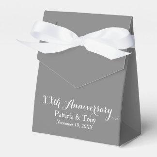 Wedding Anniversary Personalized - pick color Favor Box