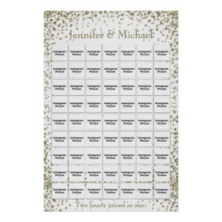 Wedding / Anniversary Photo Collage Template Poster