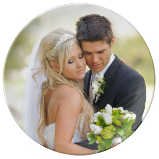 Wedding Anniversary Photo Template Plate