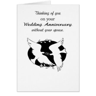 Wedding Anniversary without Spouse Memories, Hope Greeting Card