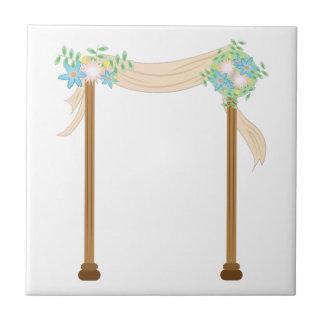 Wedding Arch Ceramic Tile