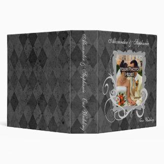 Wedding Arglye Swirl Design 3 Ring Binders