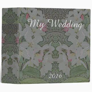 Wedding Art Nouveau Bridal Keepsake CricketDiane Binders