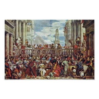 Wedding At Cana By Veronese Paolo (Best Quality) Poster