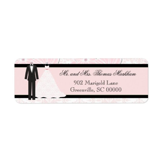 Wedding Attire Personalized Address Labels