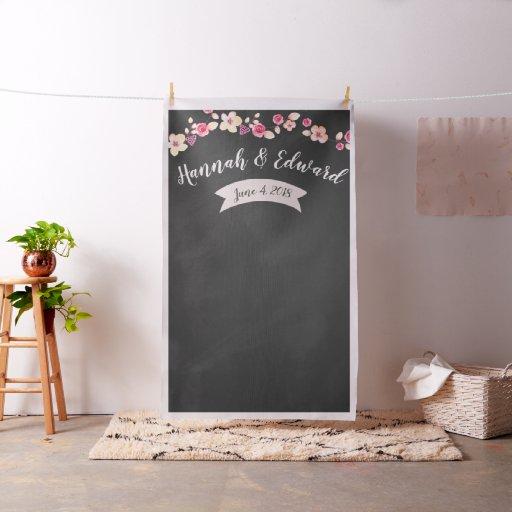 Wedding backdrop, photo prop, custom background fabric