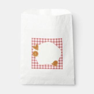 Wedding : bakery theme favour bag