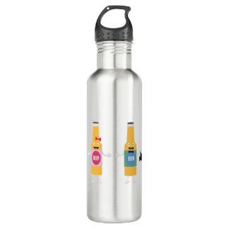 Wedding Beerbottle couple Zn4bx 710 Ml Water Bottle