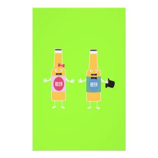 Wedding Beerbottle couple Zn4bx Flyer