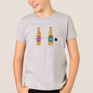 Wedding Beerbottle couple Zn4bx T-Shirt