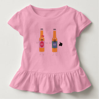 Wedding Beerbottle couple Zn4bx Toddler T-shirt