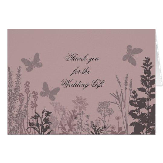 Wedding Belle Thank You Card