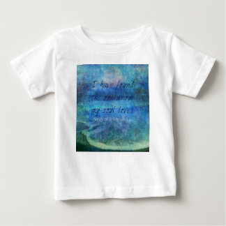 Wedding Bible Verse Art Scripture ocean sea Baby T-Shirt
