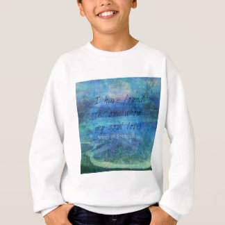 Wedding Bible Verse Art Scripture ocean sea Sweatshirt