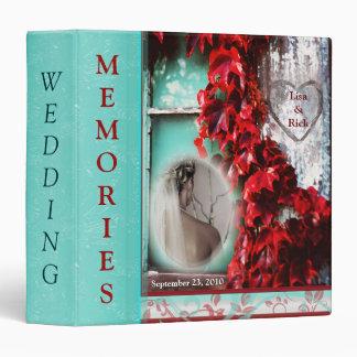 Wedding Binder - Custom  Photo & Text