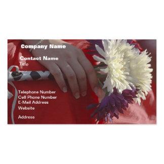 Wedding Bouquet Business Cards