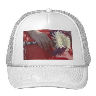 Wedding Bouquet Mesh Hat