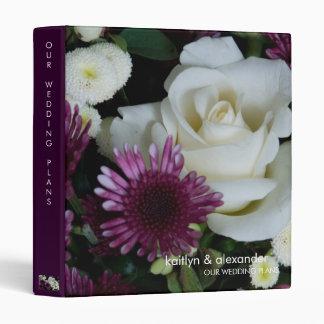 Wedding Bouquet • Wedding Plans Binder
