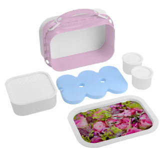 Wedding Bouquet with Wedding Ring Bands Lunch Box
