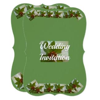 Wedding Bracket Invitation