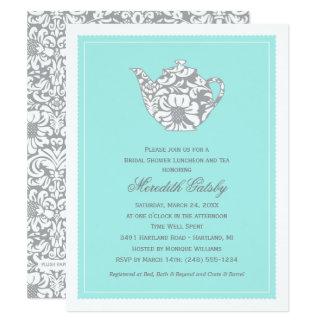 Wedding Bridal Shower Invitation | High Tea Theme