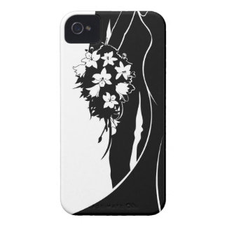Wedding Bride and Groom Silhouette iPhone 4 Case