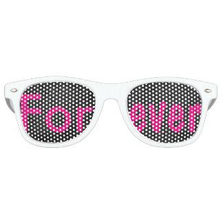 Wedding, Bride, Bachelorette, Forever, Favors 80's Sunglasses