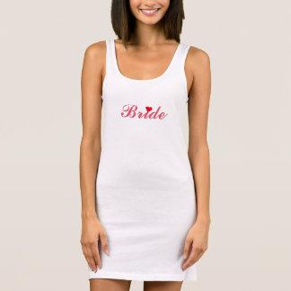 Wedding Bride Bachelorette Party Slim Tank Dress
