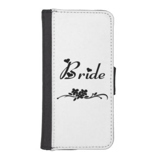 Wedding Brides iPhone SE/5/5s Wallet Case