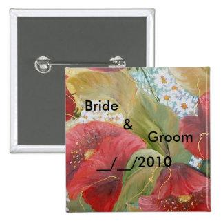 wedding butoon button