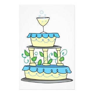 WEDDING CAKE STATIONERY