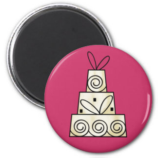 Wedding Cakes Magnets