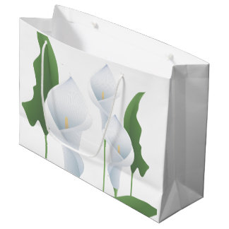 Wedding Calla Lilies  LG GB Large Gift Bag