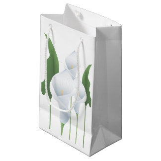 Wedding Calla Lilies Sml GB Small Gift Bag
