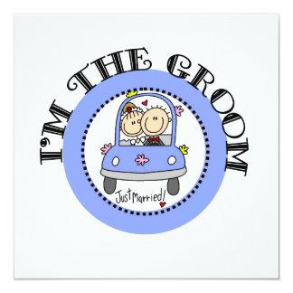 Wedding Car Groom Announcement