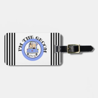 Wedding Car Groom Luggage Tag