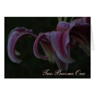 Wedding Card - Haiku
