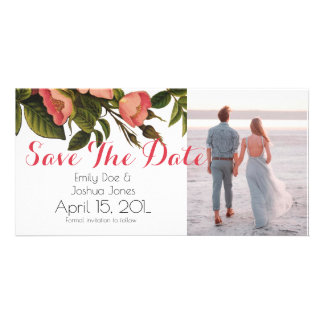 Wedding Card Template - save the date Photo Greeting Card