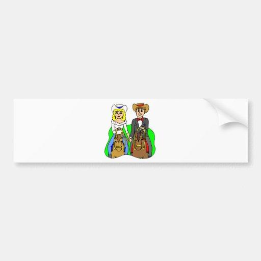 Wedding Cards 11 Bumper Sticker