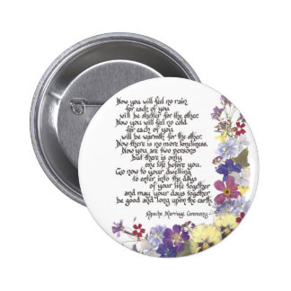 Wedding cards and gifts 2 inch round button