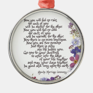 Wedding cards and gifts metal ornament