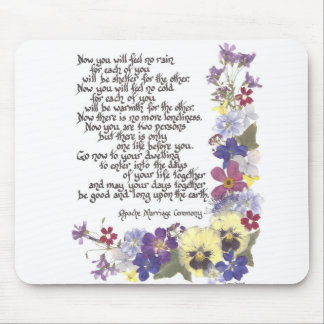 Wedding cards and gifts mouse pad
