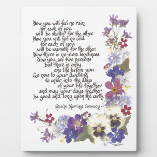 Wedding cards and gifts plaque