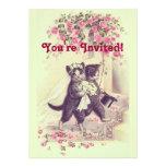Wedding Cats Invitation