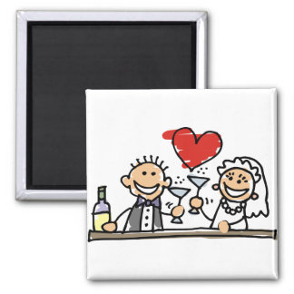 Wedding Celebration Magnet