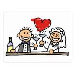 Wedding Celebration Post Cards
