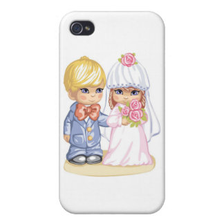 Wedding Children Cover For iPhone 4